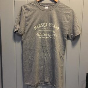 MERSEA ISLAND WATERSPORTS T-SHIRT – GREY
