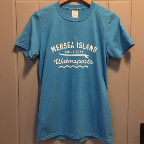 MERSEA ISLAND WATERSPORTS T-SHIRT – BLUE