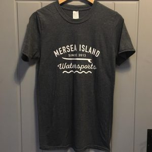 MERSEA ISLAND WATERSPORTS T-SHIRT – DARK GREY