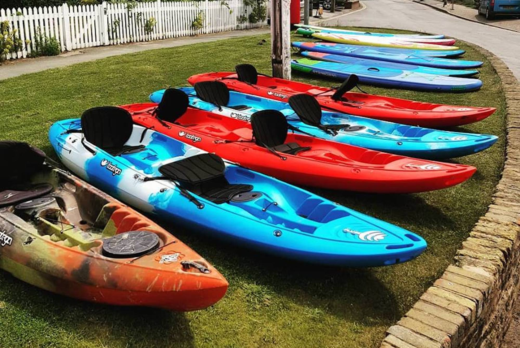 Kayak Taster (1 Hr Group Lesson) Voucher